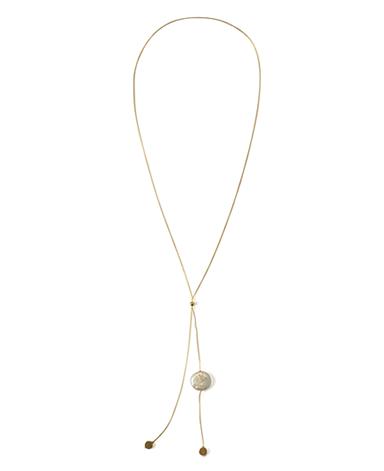 ネックレス/パール・真鍮