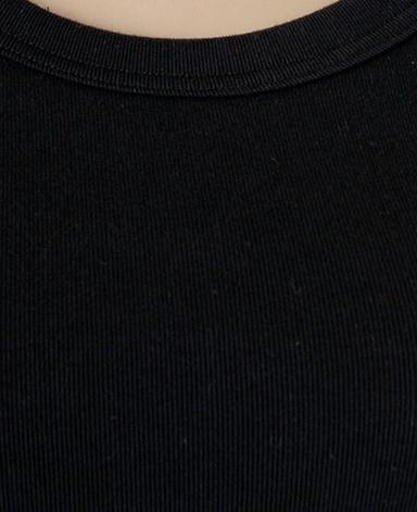 タンクトップ/ブラック