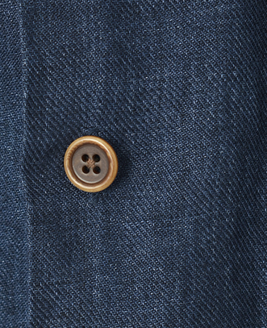 Italian Four Pocket Linen Shirt