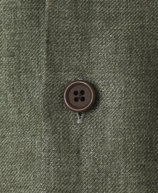 イタリアンパッチポケットシャツ/リネン
