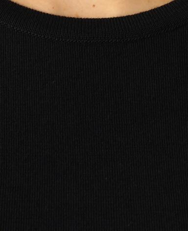 クルーネックセーター/18ゲージ