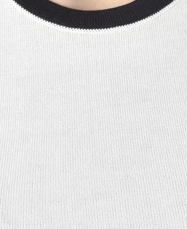 コットン ノースリーブセーター/18ゲージ
