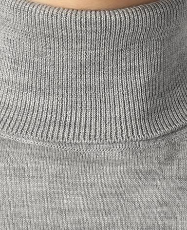 タートルネックセーター/18ゲージ