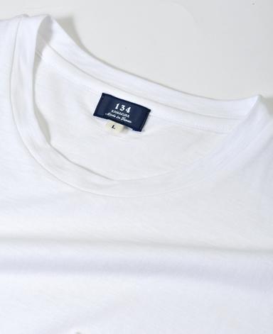 強撚クルーネックTシャツ