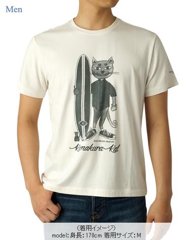 Kamakura Kat Tシャツ/グレアム・マーシュ デザイン