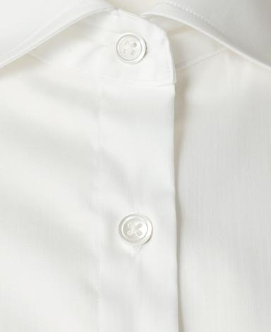 半袖スリムベーシックシャツ/ストレッチ