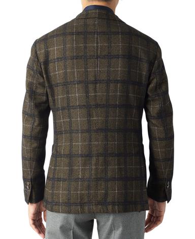 イタリア製コットンウールジャケット