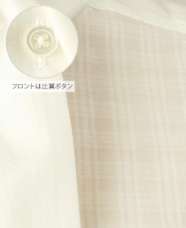 ブラウス/ジャガード織り