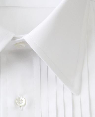 NYタキシードシャツ/ストレートカラー
