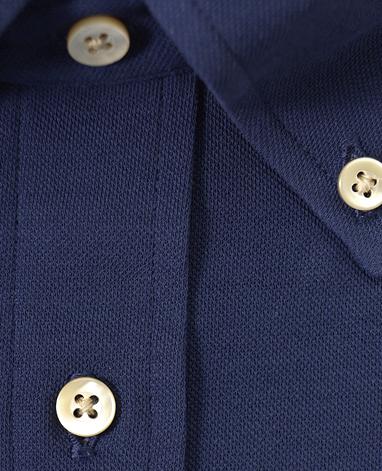 強撚ピケシャツ/ICE TWIST