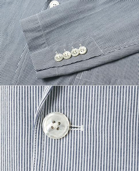 シャツ屋がつくるシャツジャケット/コットンシアサッカー