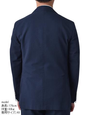 イタリア製シアサッカージャケット/セットアップ
