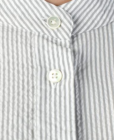 フリーサイズシャツ/シアサッカー