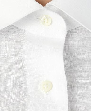 半袖クラシックシャツ/スマートリネン
