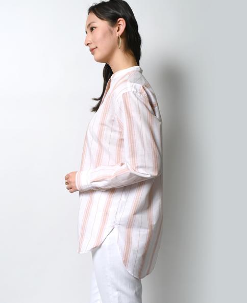 フリーサイズシャツ/コットンリネン