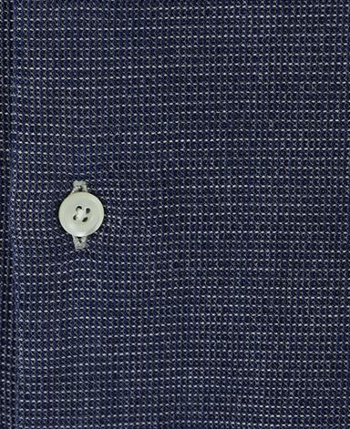 カジュアルシャツ UNTUCKED/インディゴワッフル(スプレッド)