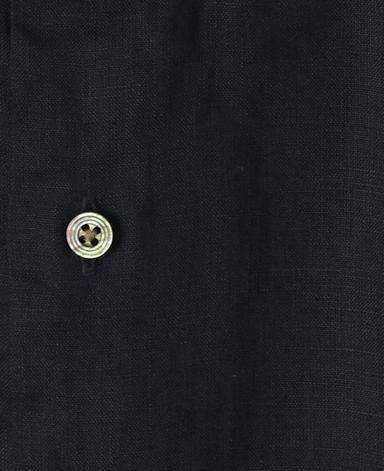 カジュアルシャツ UNTUCKED/リネン(スタンド)