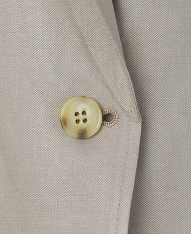 シャツジャケット/リネンレーヨン