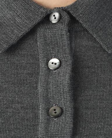 ポロニットセーター/18ゲージ