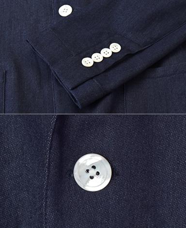 シャツ屋がつくるシャツジャケット/ストレッチデニム