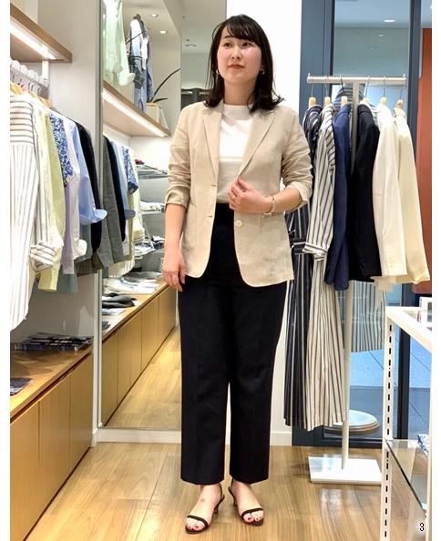 シャツジャケット/スマートリネン / イージーケア