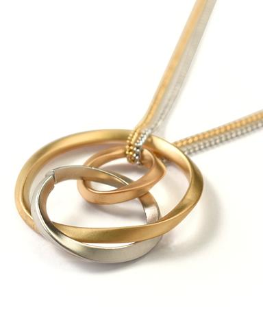ネックレス/真鍮