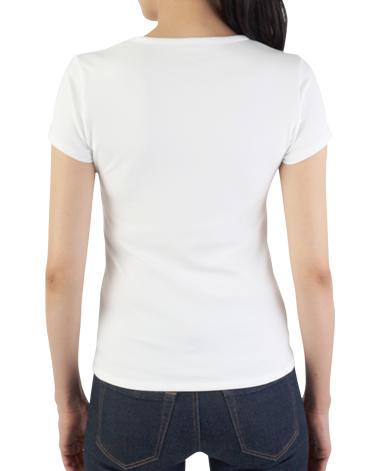 クルーネック半袖Tシャツ/ホワイト