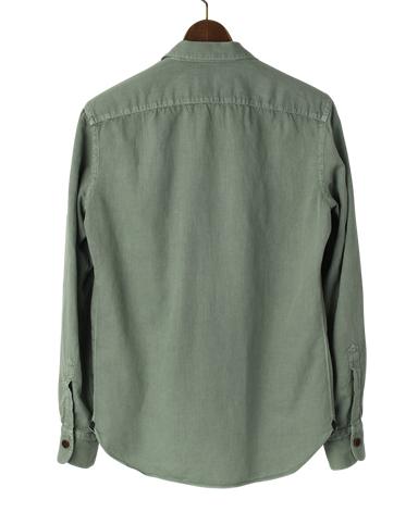 イタリアン4ポケットシャツ/(コットンリネン)