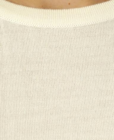 クルーネックセーター/18G(ゲージ)