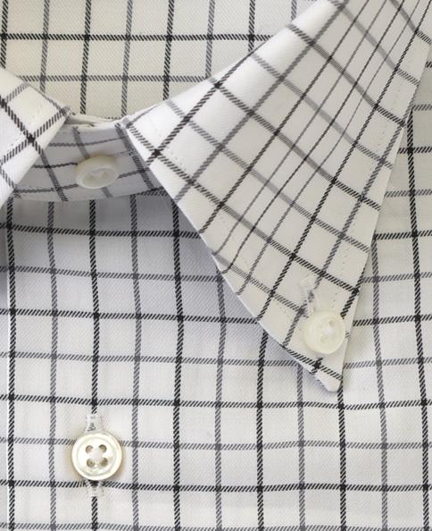 スリムフィット/Firenze/カシミヤブレンドシャツ