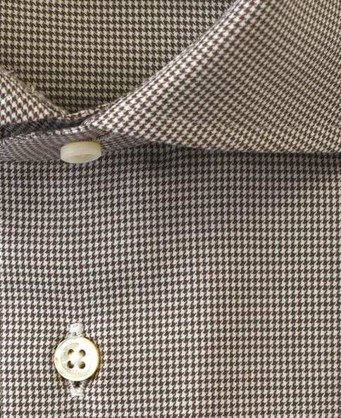 スリムフィット/FRANCESE/カシミヤブレンドシャツ