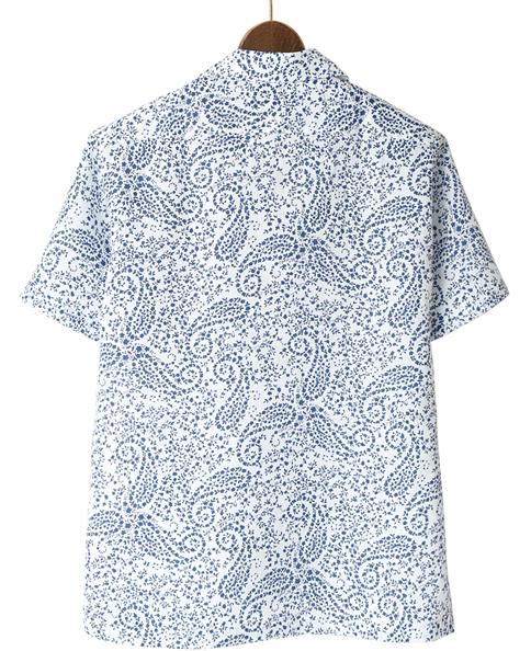 半袖シャツ/麻