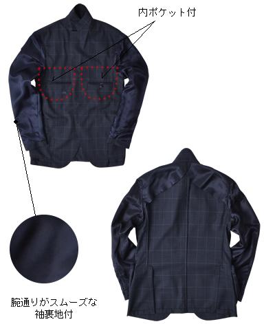 イタリアンウールスーツ