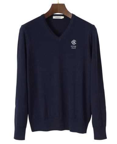 SilverClub Vネックセーター