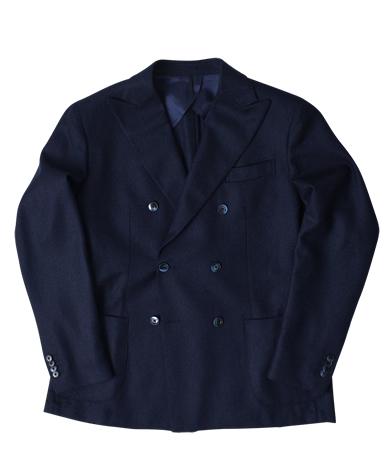 イタリア製ウールダブルジャケット