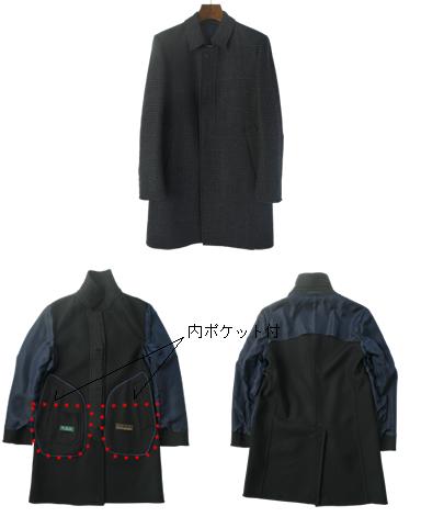 ウールステンカラーコート