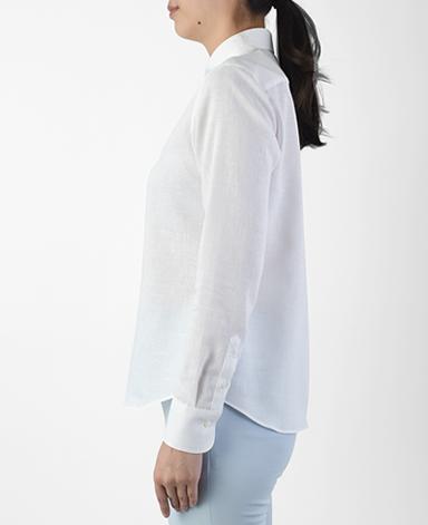 クラシックシャツ/Wモデル/スマートリネン / イージーケア