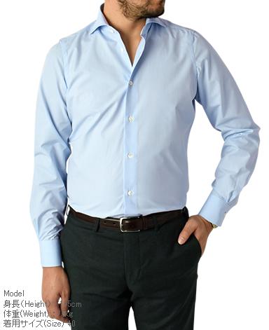 ナポリドレスシャツ/イタリア製(9箇所ハンドメイド )