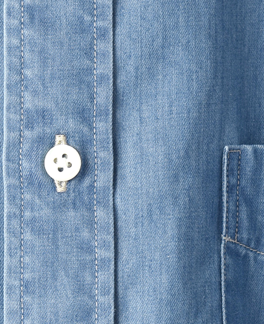 カジュアルシャツ  UNTUCKED/カイハラデニム(ボタンダウン)