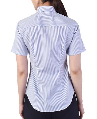 半袖スリムシャツ/ツイル