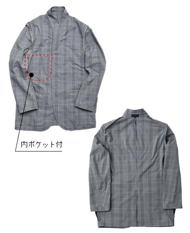 くろすとしゆきのアイビージャケット/2019年モデル