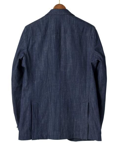 シャツ屋がつくるシャツジャケット/デニム
