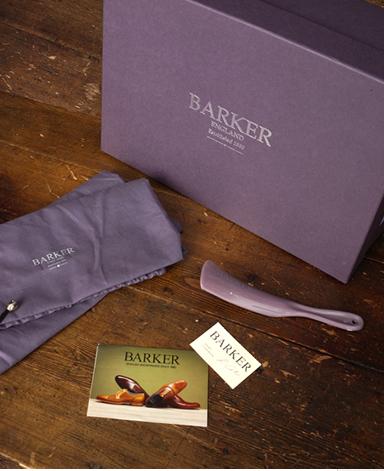 BARKER スエードサイドゴアブーツ/イギリス製/スエードレザー