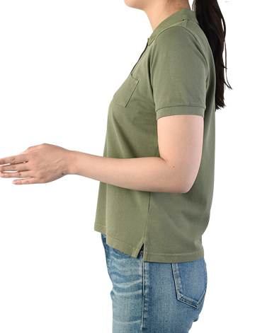 ポロシャツ/鹿の子