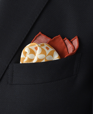 シルクポケットチーフ/ヴィンテージライン