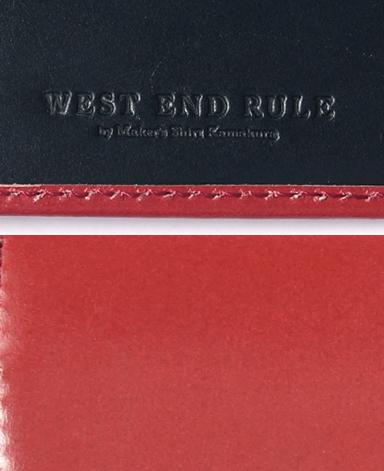 三つ折り財布/ブライドルレザー