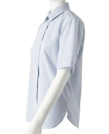 半袖比翼シャツ