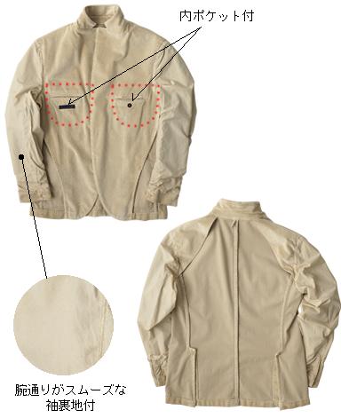 イタリア製コーデュロイジャケット