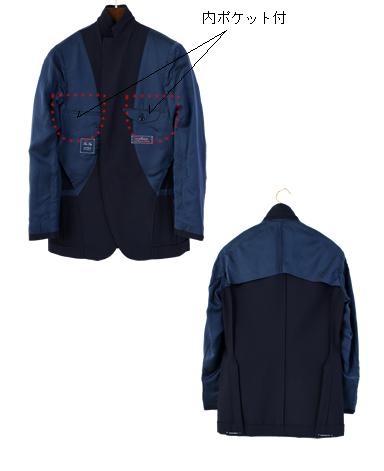 ウールコットンジャケット/ナポリモデル|ANGELICO