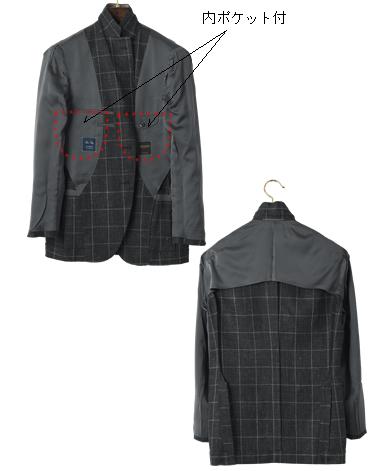 リネンウールジャケット/ナポリモデル|DRAGO